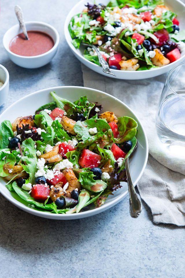 συνταγή σαλάτα κολοκύθα κινόα cranberries